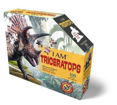 MADD CAPP Shape Puzzle Junior - Triceratops 100 Teile