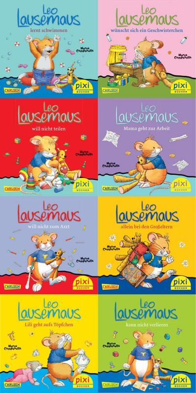 Pixi-Serie Nr. 219: Leo Lausemaus. 64 Exemplare