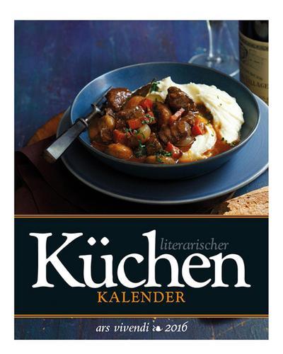 Literarischer Küchenkalender 2016