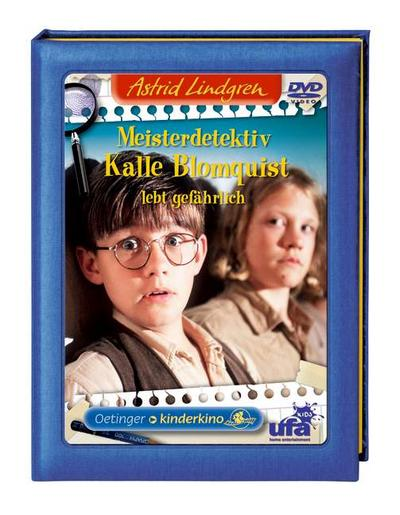 Meisterdetektiv Kalle Blomquist lebt gefährlich   ; Regie: Carmback, Göran. Sprecher: Forsberg, Malte /Arling, Josefin /Steneby, Totte; Deutsch; DVD
