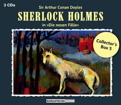 Sherlock Holmes - Neue Fälle: Collector's Box. Box.5, 3 Audio-CD