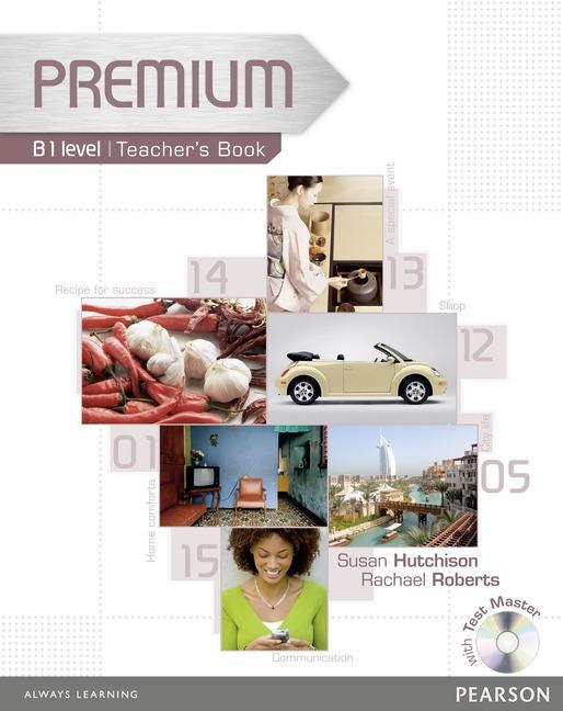 Premium B1 Level Teachers Book/Test master CD-Rom Pack Rachael Roberts