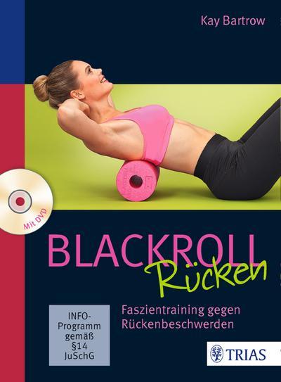 Blackroll Rücken mit DVD