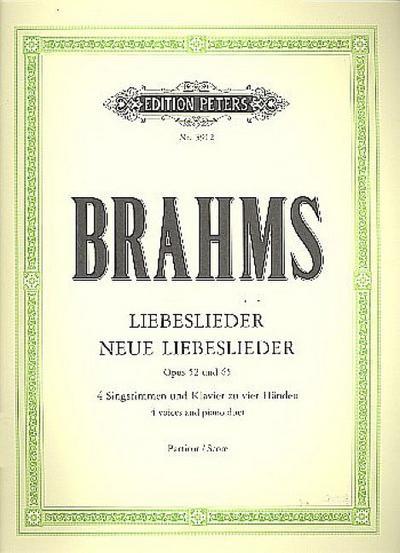 Liebeslieder / Neue Liebeslieder op. 52 / 65