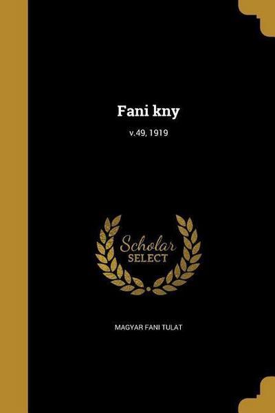 HUN-FANI KNY V49 1919