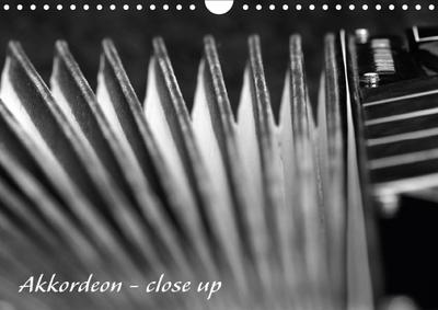 Akkordeon - close up (Wandkalender 2018 DIN A4 quer)