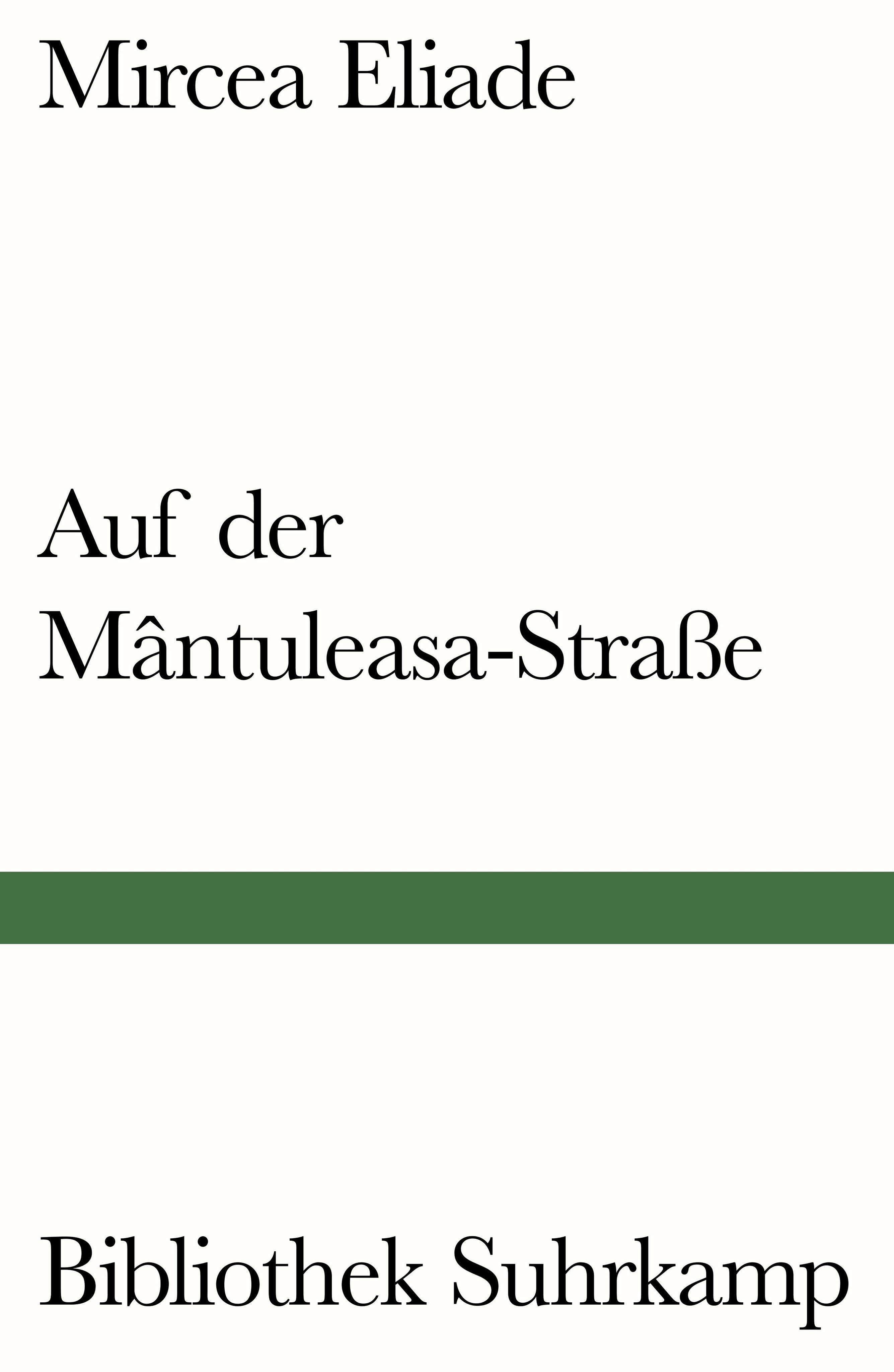 Auf der Mântuleasa-Straße Mircea Eliade