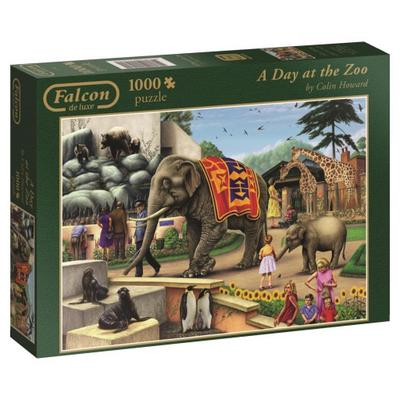 A Day at the Zoo - Puzzle 1000 Teile