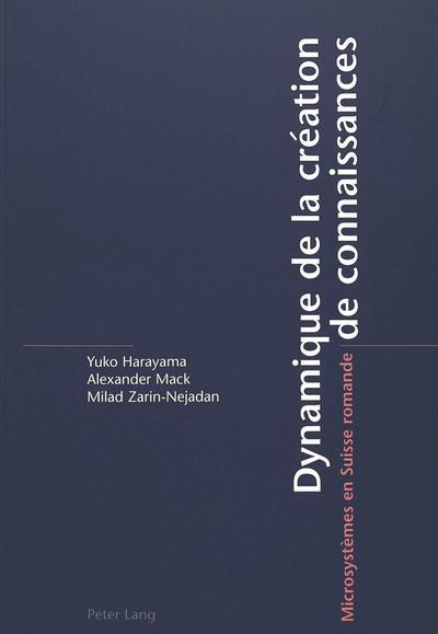 Dynamique de la création de connaissances