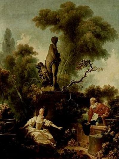 Jean-Honoré Fragonard - Gemäldeserie zum Thema