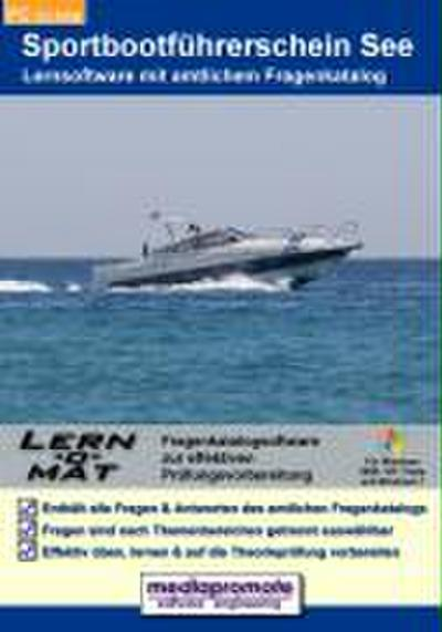 Lern-o-Mat Sportbootführerschein See. CD-ROM