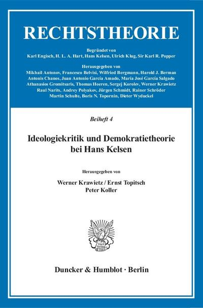 Ideologiekritik und Demokratietheorie bei Hans Kelsen