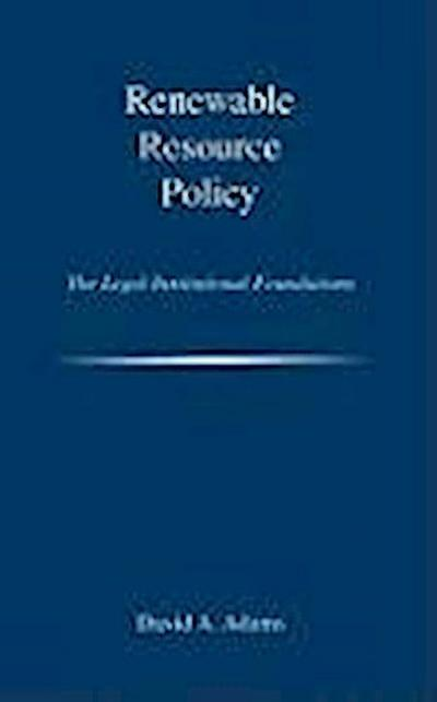 Renewable Resource Policy