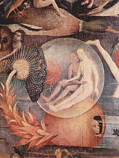 Hieronymus Bosch - Der Garten der Lüste, Mitteltafel: Der Garten der Lüste, Detail - 200 Teile (Puzzle)