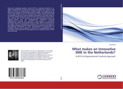 What makes an Innovative SME in the Netherlands?