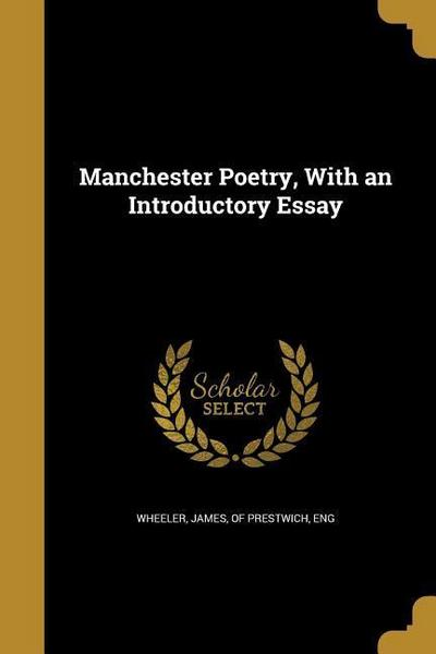 MANCHESTER POETRY W/AN INTRODU
