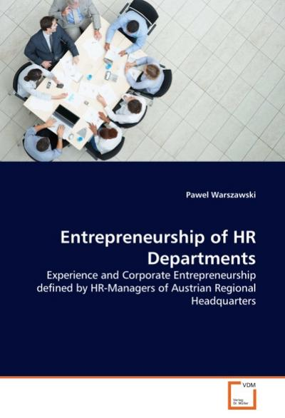 Entrepreneurship of HR Departments