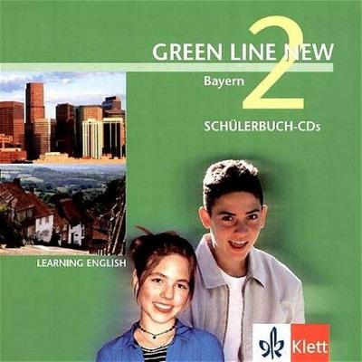 Green Line NEW Bayern: Begleit-CDs zum Schülerbuch Band 2: 6. Schuljahr (Green Line NEW. Ausgabe für Bayern) - Klett - Audio CD, Englisch, Rosemary Hellyer-Jones, Marion Horner, Robert Parr, Rosemary Hellyer- Jones, ,