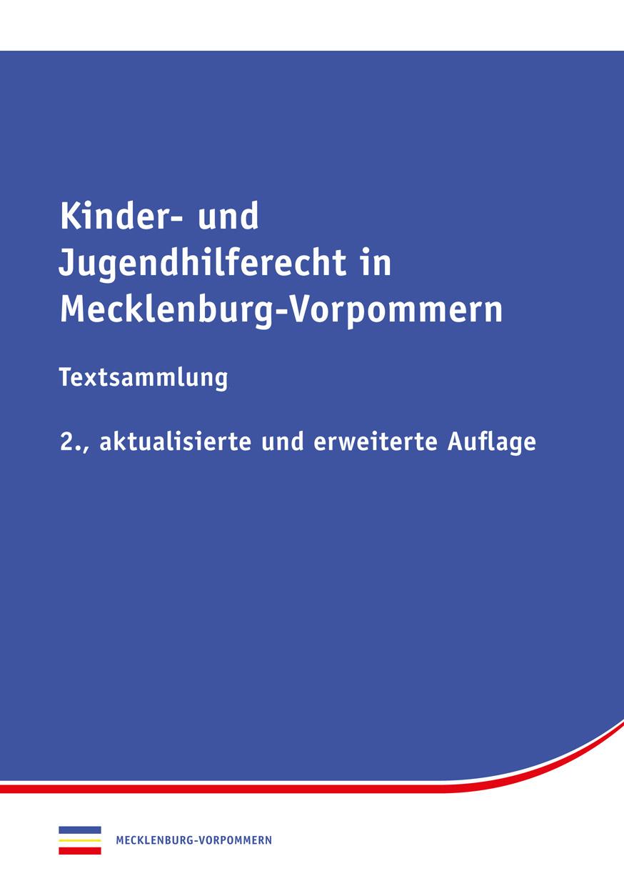 Kinder- und Jugendhilferecht in Mecklenburg-Vorpommern  9783944210810