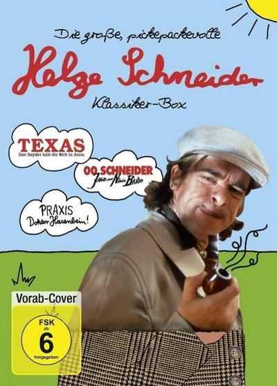 Die große, pickepackevolle Helge Schneider Klassiker-Box