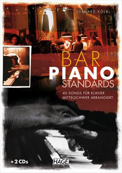Bar Piano Standards mit 2 CDs
