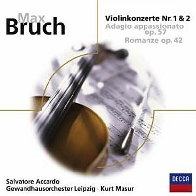 Violinkonzerte Nr. 1 g-moll op. 26 und Nr. 2 d-moll op.44/Adagio appassionato op. 57/Romanze op. 42