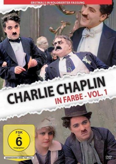 Charlie Chaplin in Farbe