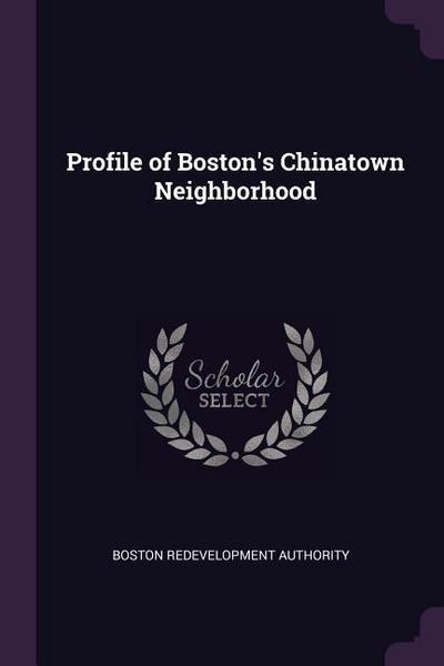 Profile of Boston's Chinatown Neighborhood
