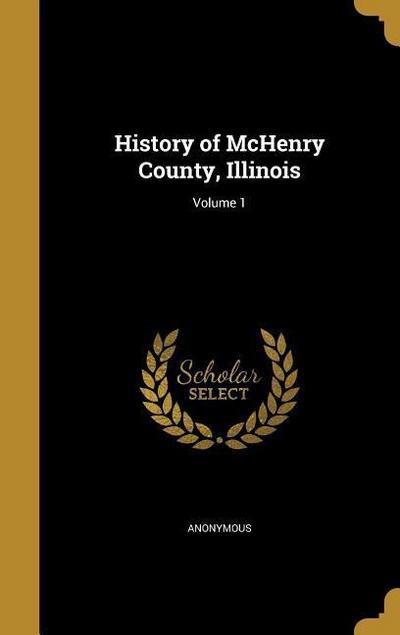 HIST OF MCHENRY COUNTY ILLINOI