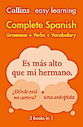 Easy Learning Spanish Complete Grammar, Verbs ...
