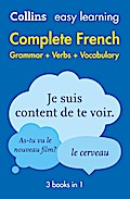 Easy Learning French Complete Grammar, Verbs  ...