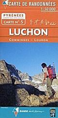 Pyrénées carte 5 Luchon - Comminges - Louron  1 : 50 000