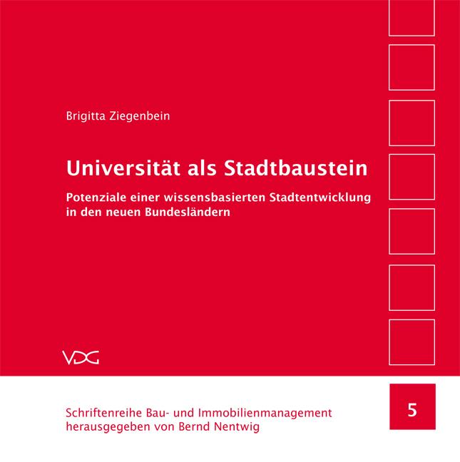Universität als Stadtbaustein, Brigitta Ziegenbein