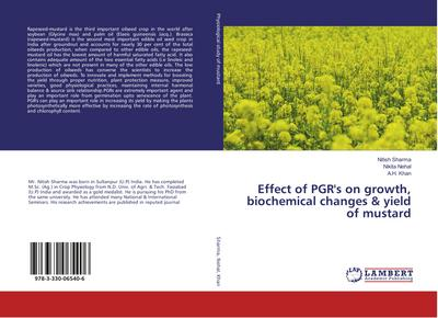 Effect of PGR's on growth, biochemical changes & yield of mustard