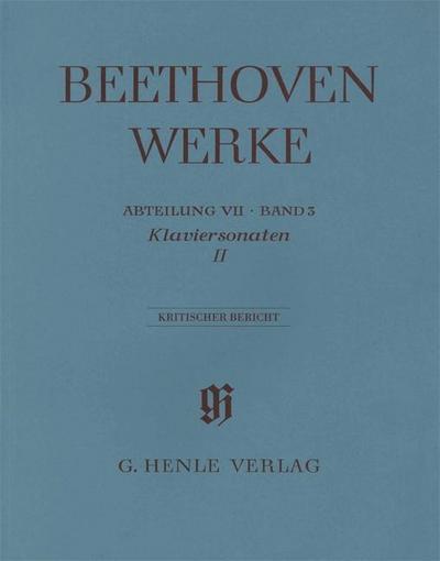 Beethoven, Ludwig van - Klaviersonaten, Band II. Bd.2