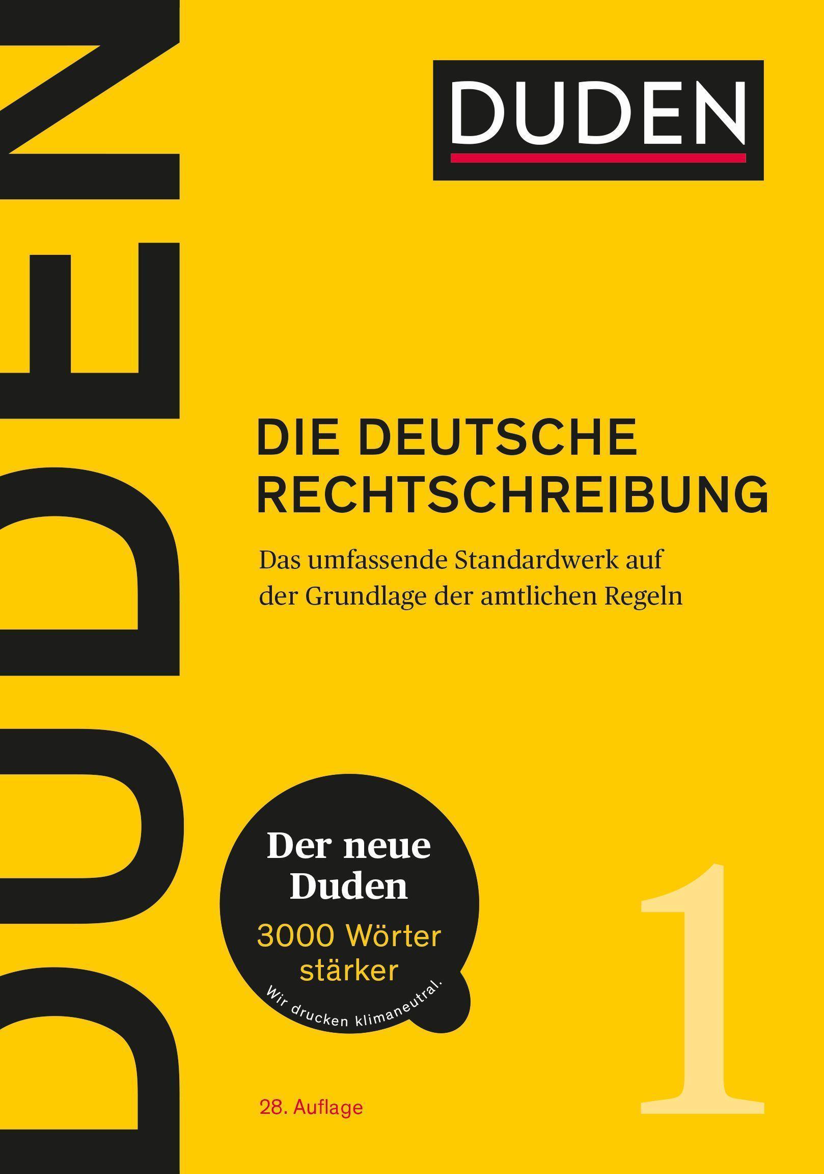 Dudenredaktion Duden Die Deutsche Rechtschreibung 9783411040186 Ebay