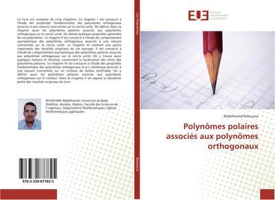 Polynômes polaires associés aux polynômes orthogonaux