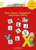 Lernraupe - Mein Sticker-Übungsheft Buchstabe ...