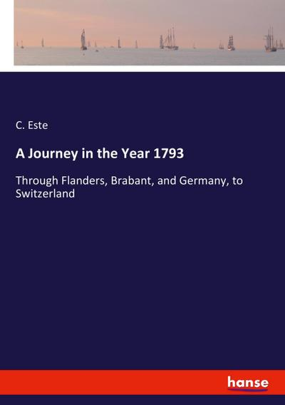 A Journey in the Year 1793