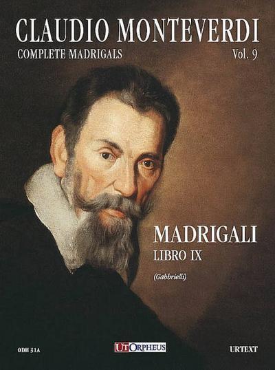 Madrigali vol.9per coro e bc