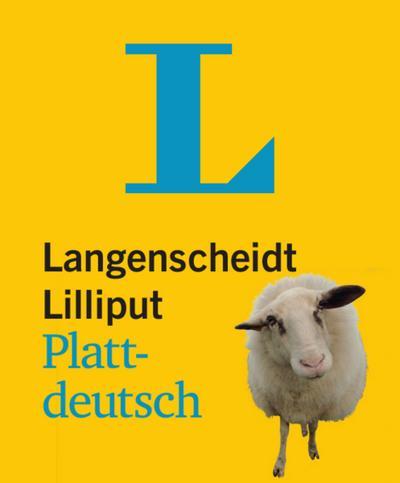 Langenscheidt Lilliput Plattdeutsch - im Mini-Format