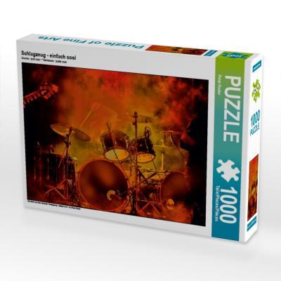 Schlagzeug - einfach cool (Puzzle)