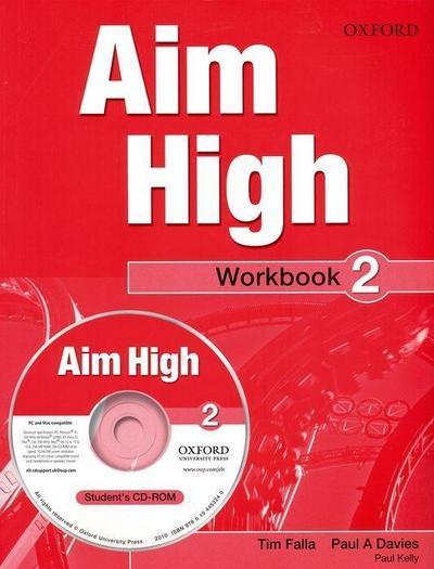 Aim High Level 2 Workbook + CD-ROM