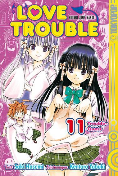 Love Trouble 11, Kentaro Yabuki