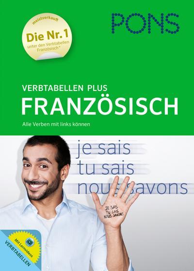 PONS Verbtabellen Plus Französisch: Alle Verben mit links können. Mit Lernvideos.