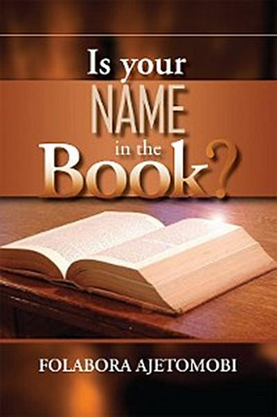 Is Your Name in the Book?