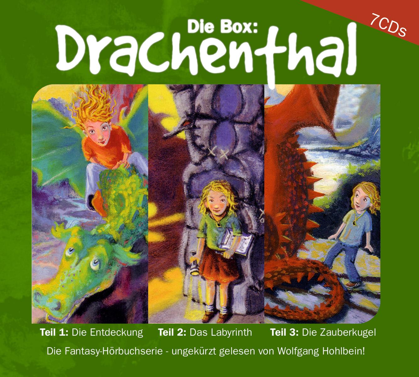 Drachenthal, 7 Audio-CDs Heike Hohlbein