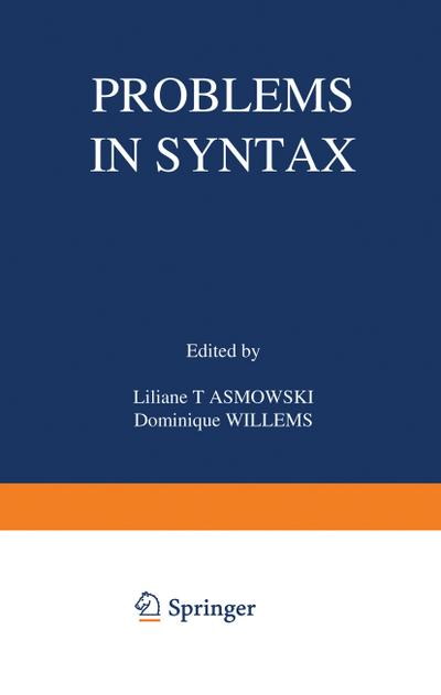 Problems in Syntax
