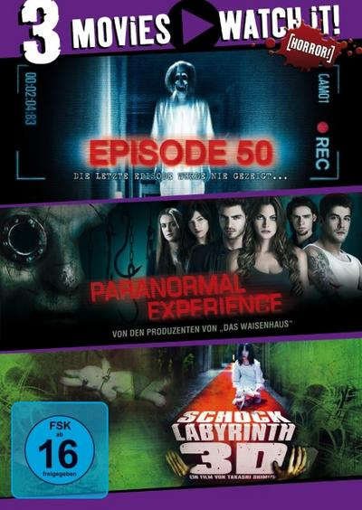 Episode 50 / Paranormal Experience / Shock Labyrinth DVD-Box