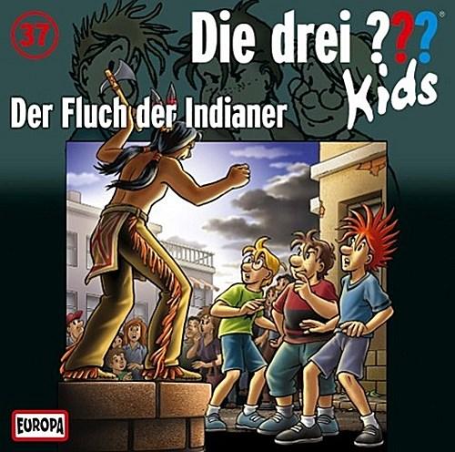 Die drei ??? Kids 37. Der Fluch der Indianer (drei Fragezeichen) CD Ulf Bla ...